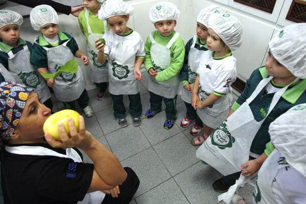 projeto de nutrição para escolas - alimentação saudável