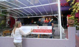 Interdição-Restaurantes