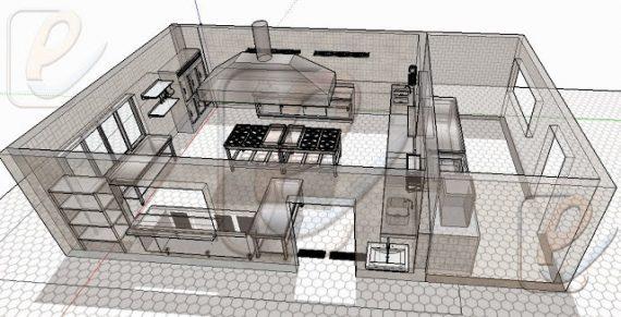 varias digas para gastar pouco ao montar cozinha industrial pequena