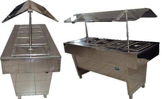 Aqui vai saber todos os equipamentos necessários para montar um restaurante Self Service