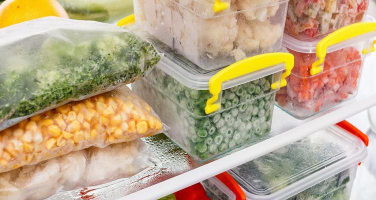 como armazenar alimentos cozidos na geladeira