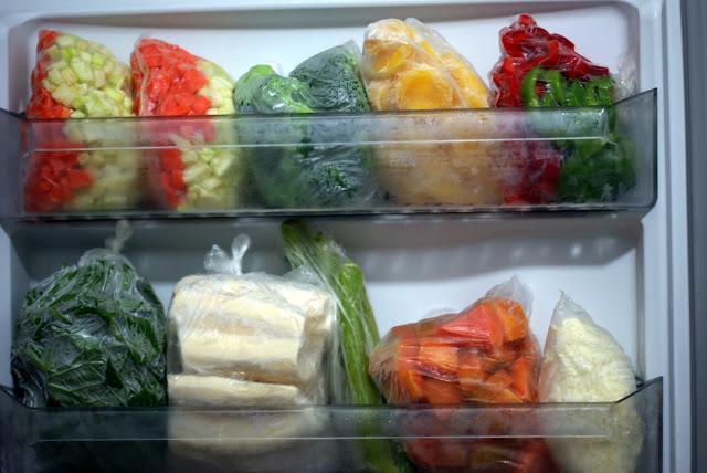 Conservação de alimentos por congelamento