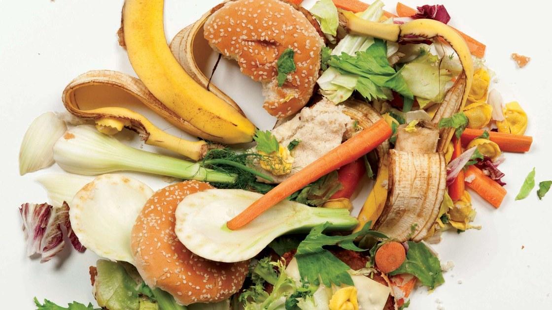 Descarte de alimentos impróprios para o consumo