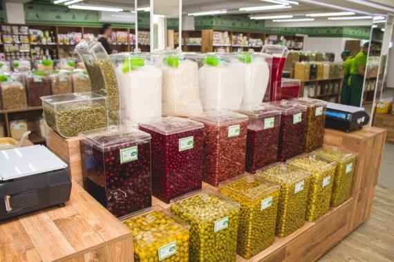 Comercialização de produtos a granel