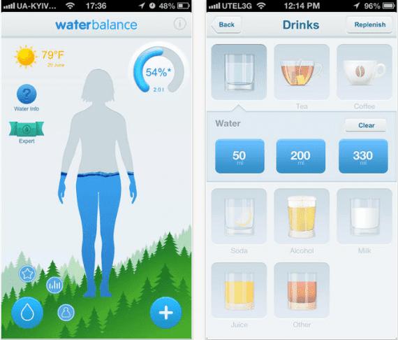water balance - os melhores aps de nutrição para o seu celular