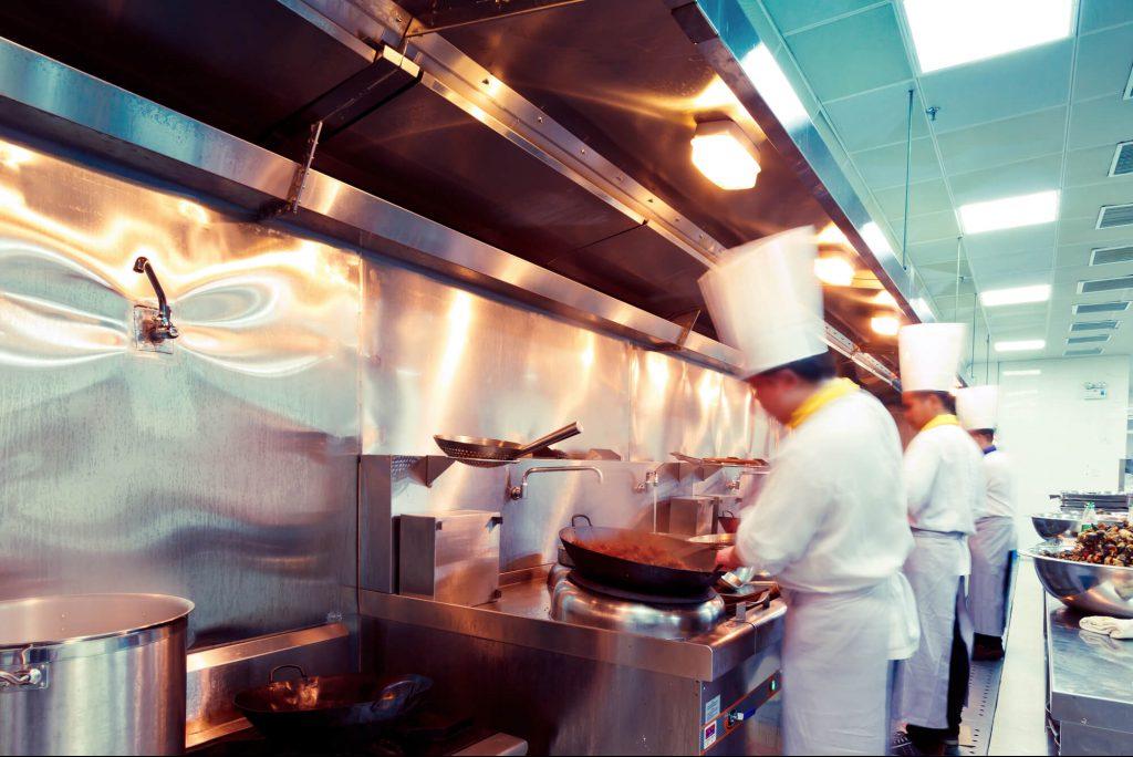 layout pode melhorar a produção na cozinha