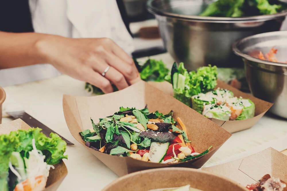 empreendedorismo com comida vegana