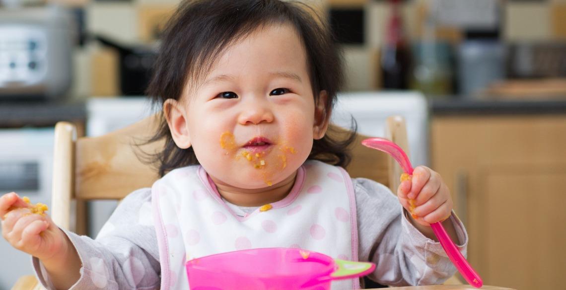 método BLW para introdução alimentar