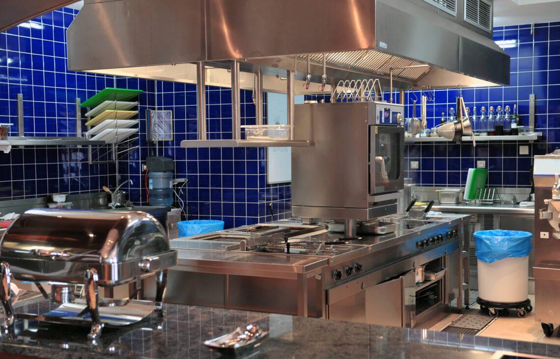 como ventilar uma cozinha industrial