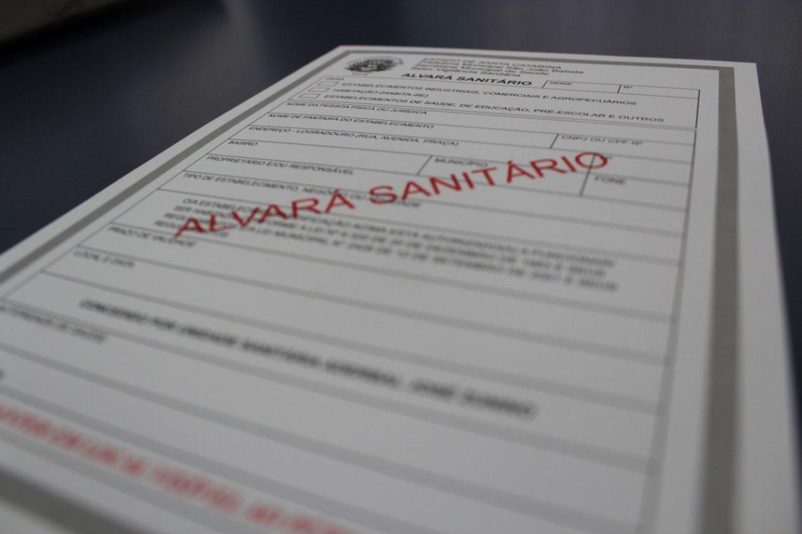 ALVARÁ PARA FUNCIONAMENTO DE RESTAURANTE - ALVARÁ SANITÁRIO