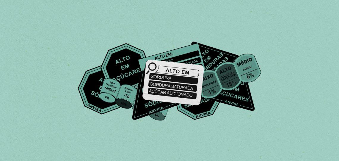 legislações para rotulagem de alimentos - rotulagem frontal
